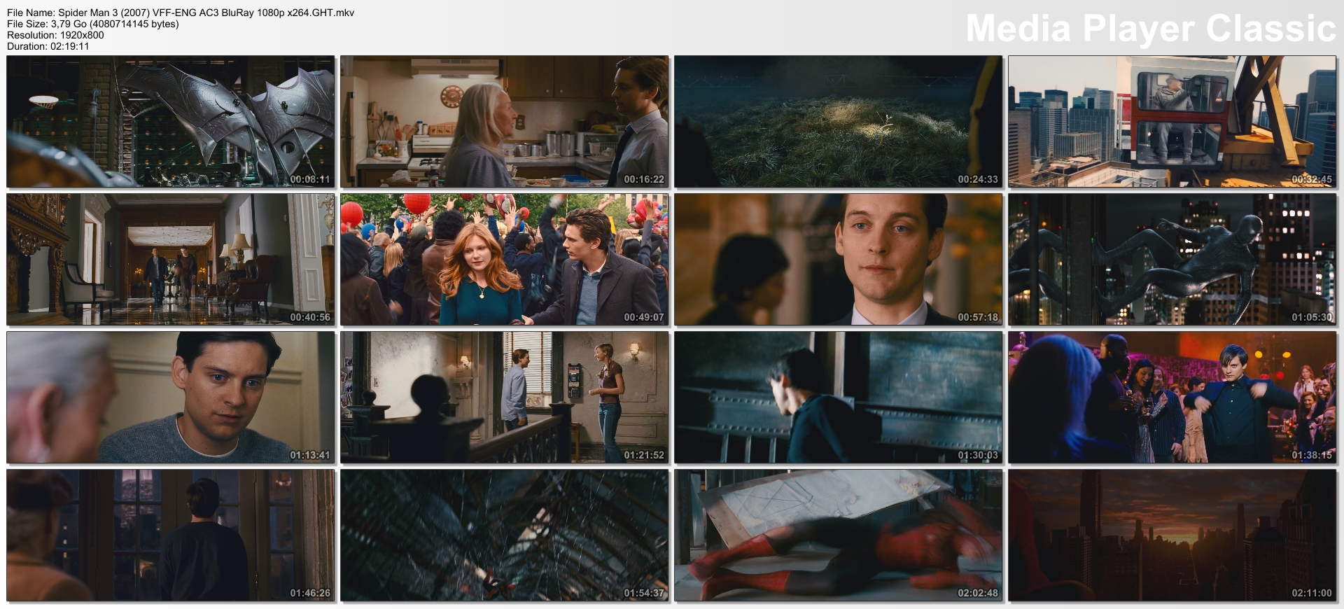 Spider Man 3 (2007) VFF-ENG AC3 BluRay 1080p x264