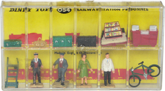 Railway station personnel Dinky-Toys