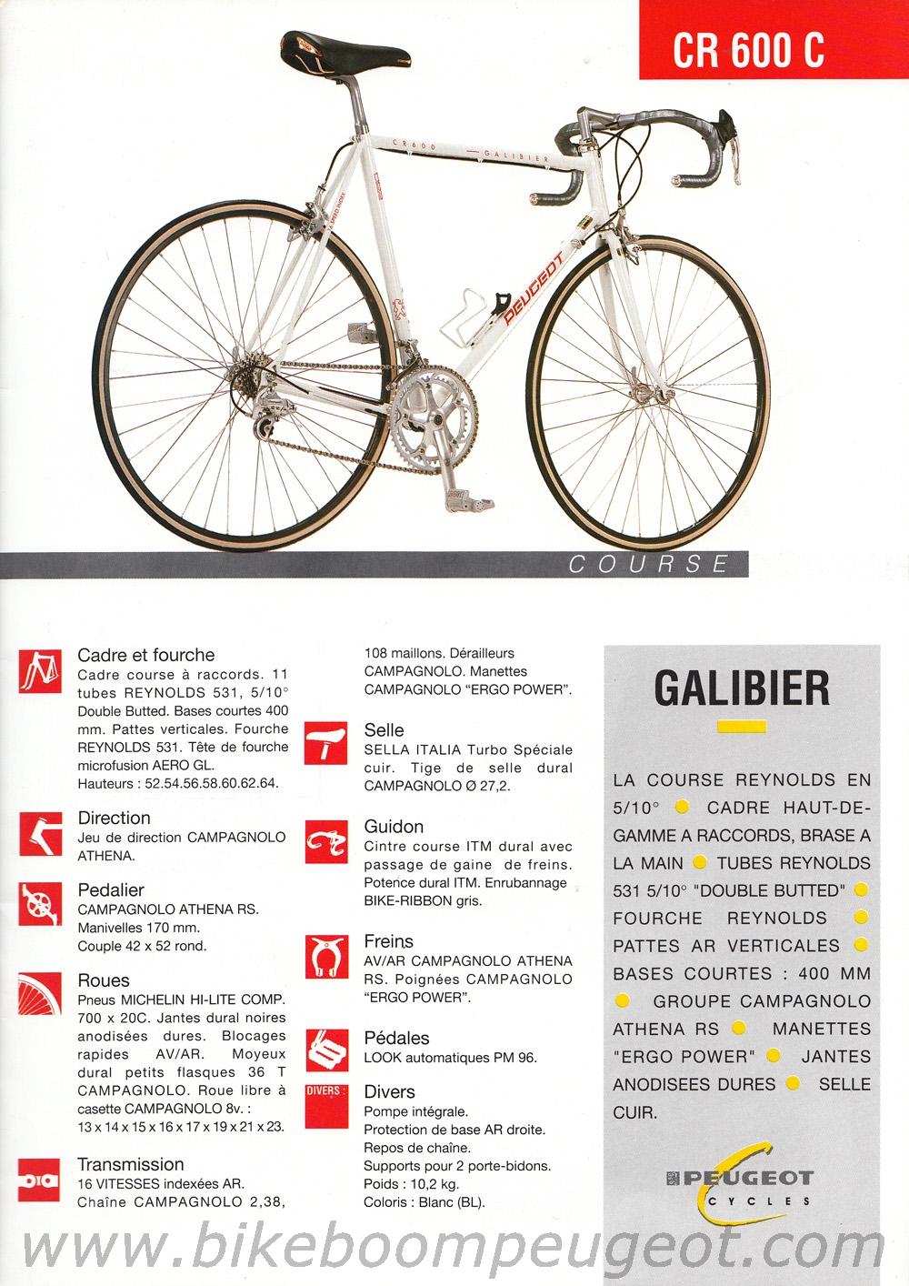 Peugeot Galibier 1992 en Reynolds 531 17110109020522172415350260