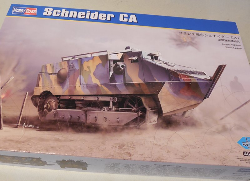 Schneider CA1/M1 Hobby Boss au 1/35 : une reprise... 17110203015223099315351425