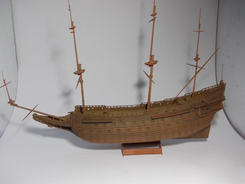 Swedish Regal Ship - Wasa ( 1628 ) --> Maquette Revell 1/150 ... 17110205565310194415351726