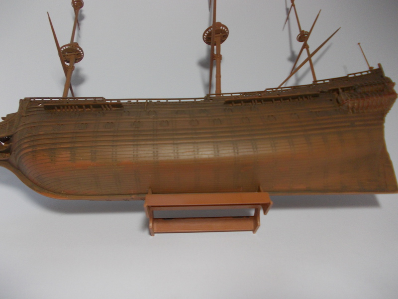 Swedish Regal Ship - Wasa ( 1628 ) --> Maquette Revell 1/150 ... 17110205571910194415351727