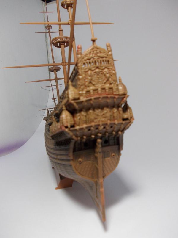 Swedish Regal Ship - Wasa ( 1628 ) --> Maquette Revell 1/150 ... 17110205574610194415351729