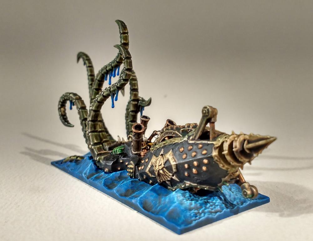 Dreadfleet : des navires dans le monde de Warhammer 17110210550723099315352156
