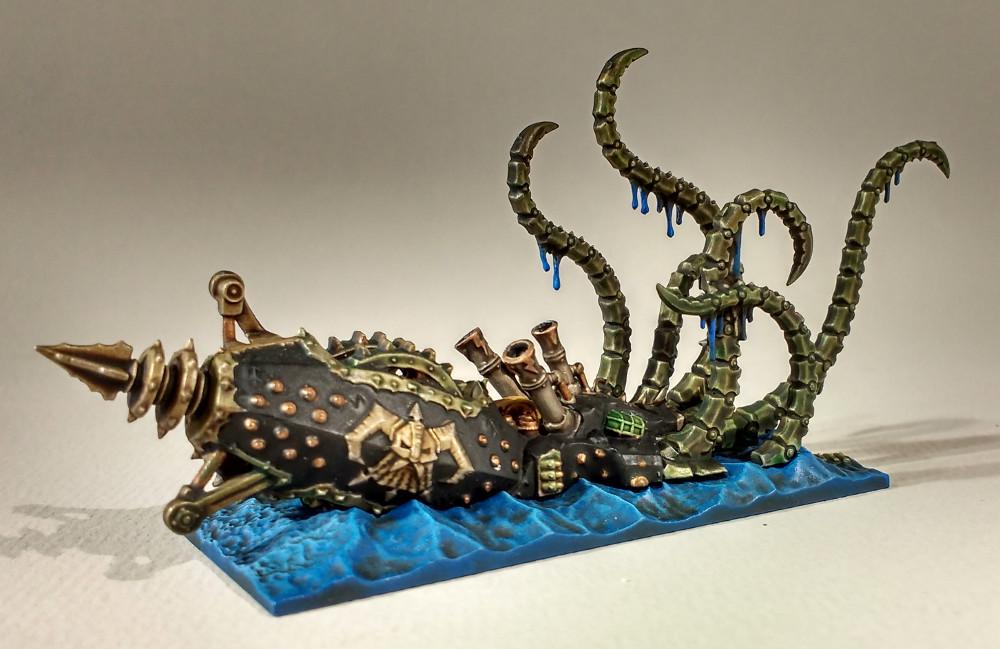 Dreadfleet : des navires dans le monde de Warhammer 17110210550923099315352157