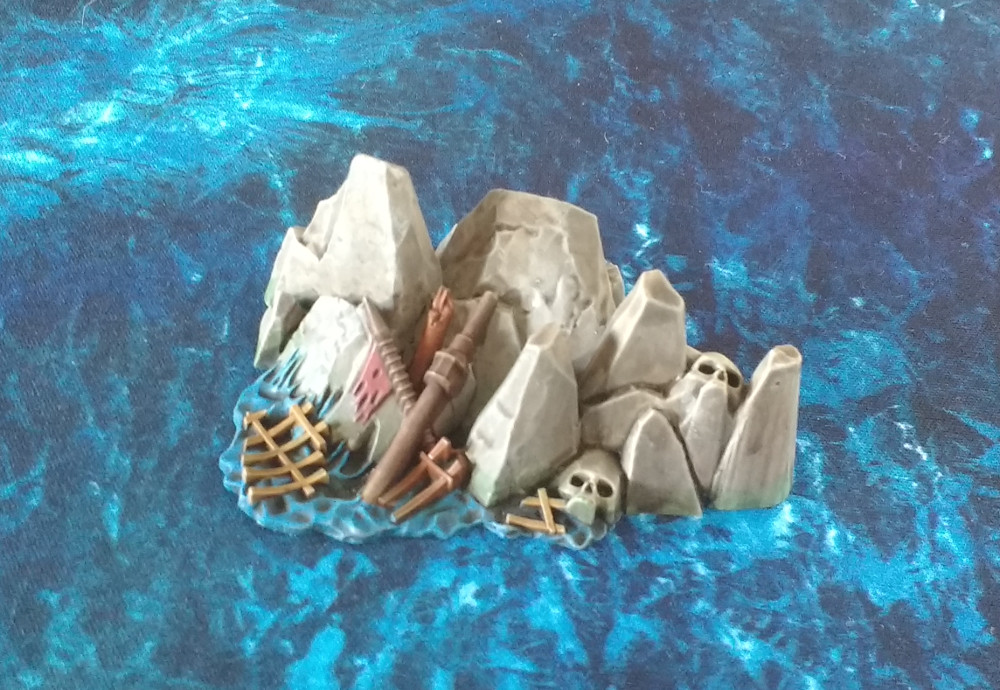 Dreadfleet : des navires dans le monde de Warhammer 17110309451323099315353528