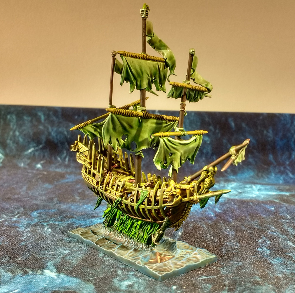 Dreadfleet : des navires dans le monde de Warhammer 17110312251823099315352626