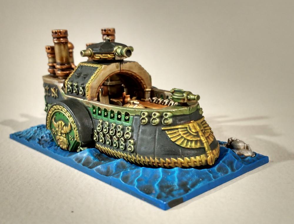 Dreadfleet : des navires dans le monde de Warhammer 17110507584223099315356213