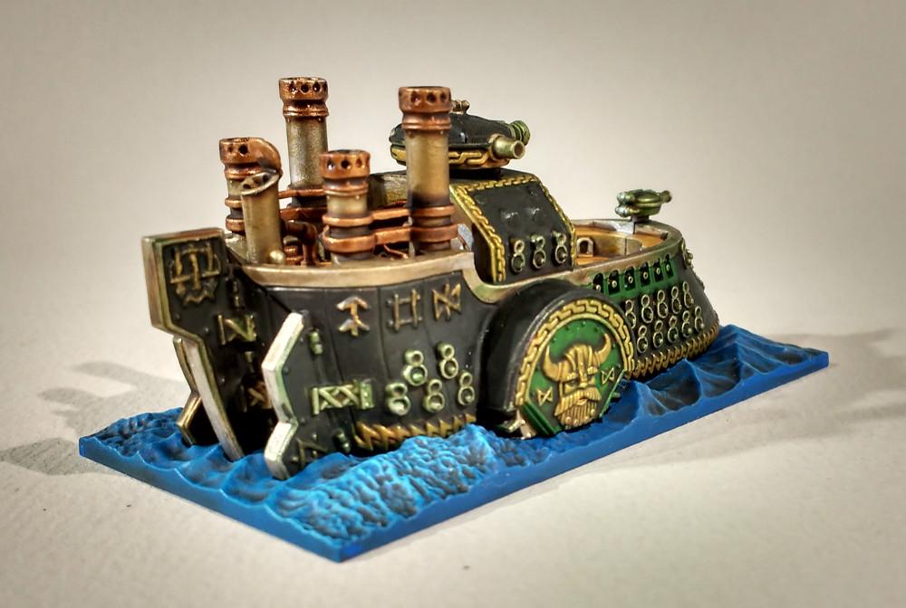 Dreadfleet : des navires dans le monde de Warhammer 17110507584423099315356214