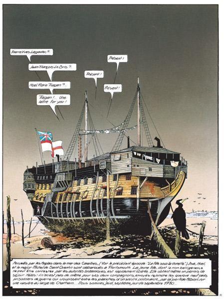 Un ponton prison anglais de la Révolution ou de l'Empire 17110511462223099315356369