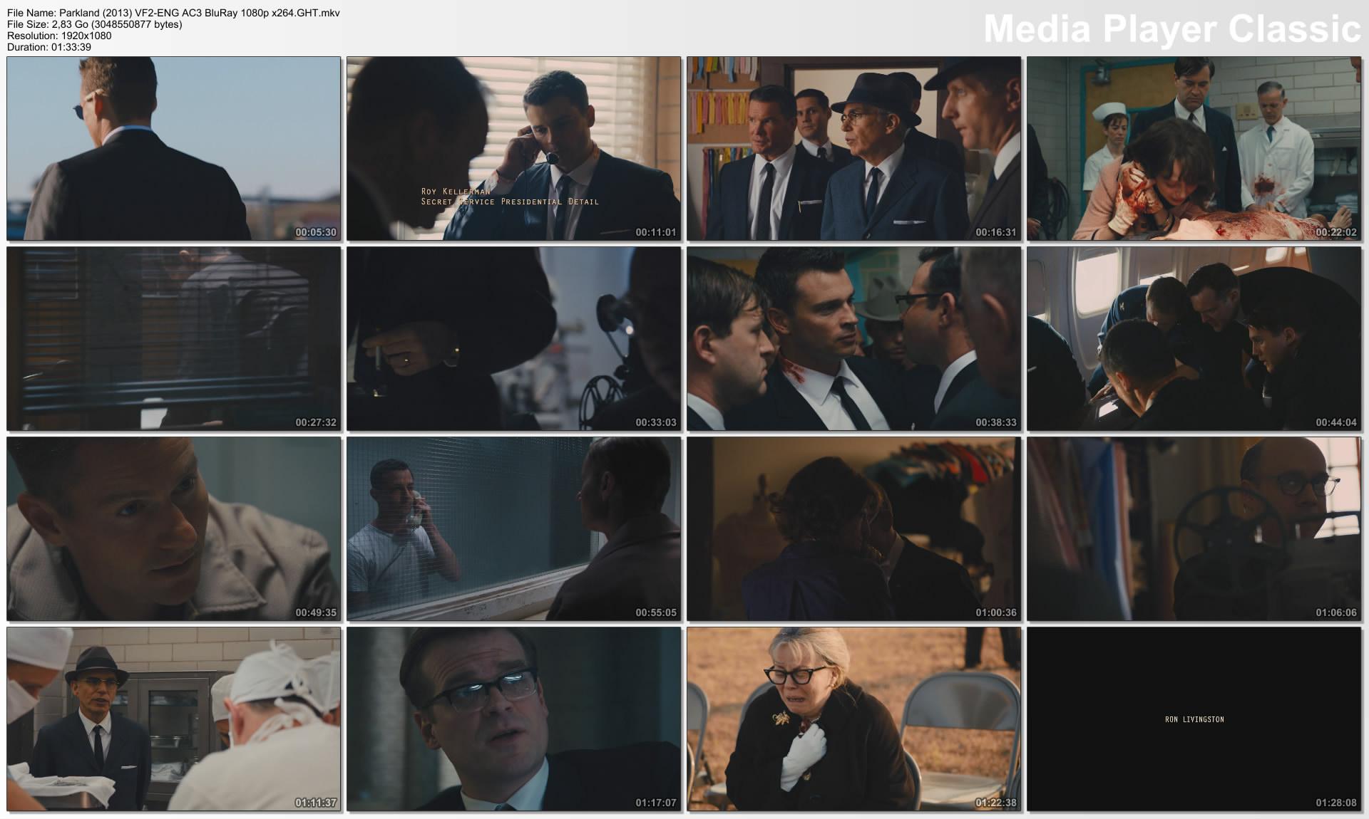 Parkland (2013) VF2-ENG AC3 BluRay 1080p x264.GHT