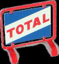 Panneau Total Mont-Blanc