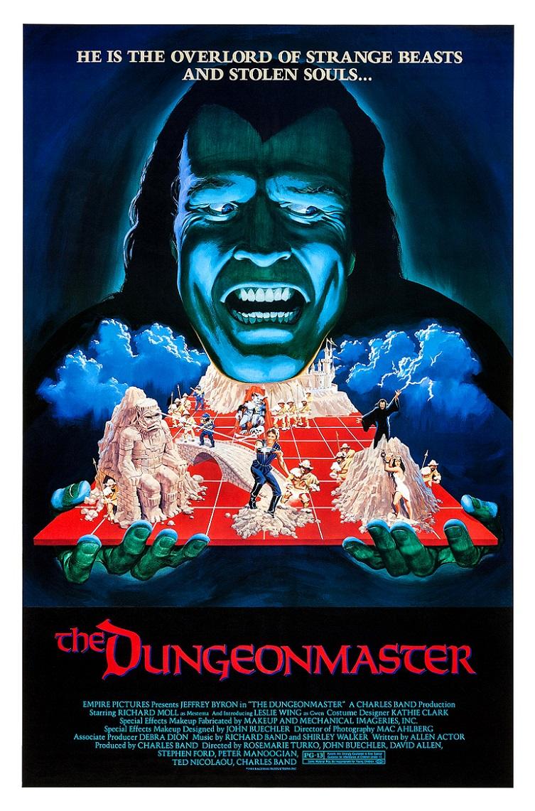 L'AFFICHE : THE DUNGEONMASTER (1984) dans CINÉMA 17111212480315263615365442
