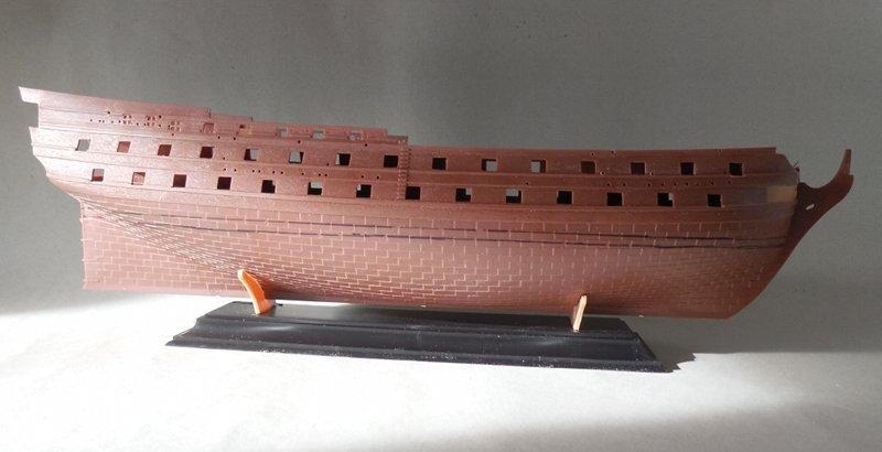Le Glorieux (maquette Heller au 1/150) 17111302451523099315368456