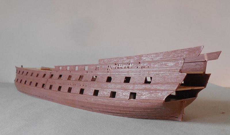 Le Glorieux (maquette Heller au 1/150) 17111302451623099315368458