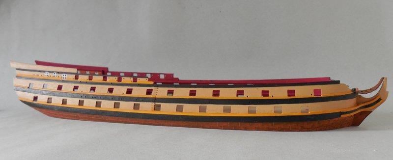 Le Glorieux (maquette Heller au 1/150) 17111302461723099315368475