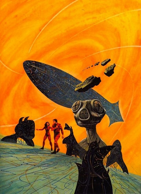 ALIEN'ART - Jack Gaughan dans Alien'art 17111407390815263615369744