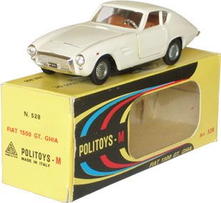 Fiat 1500 GT Ghia Politoys