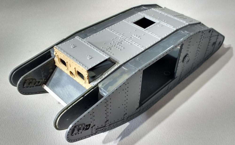 Tank MarkIV un mix Ehmar/Takom au 1/35 17112604140123099315387572