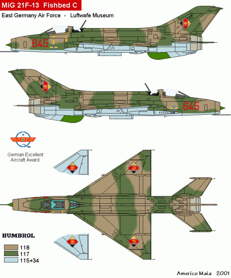 MiG-21 F-13 (Trumpeter 1/48) 17120107161510194415396308