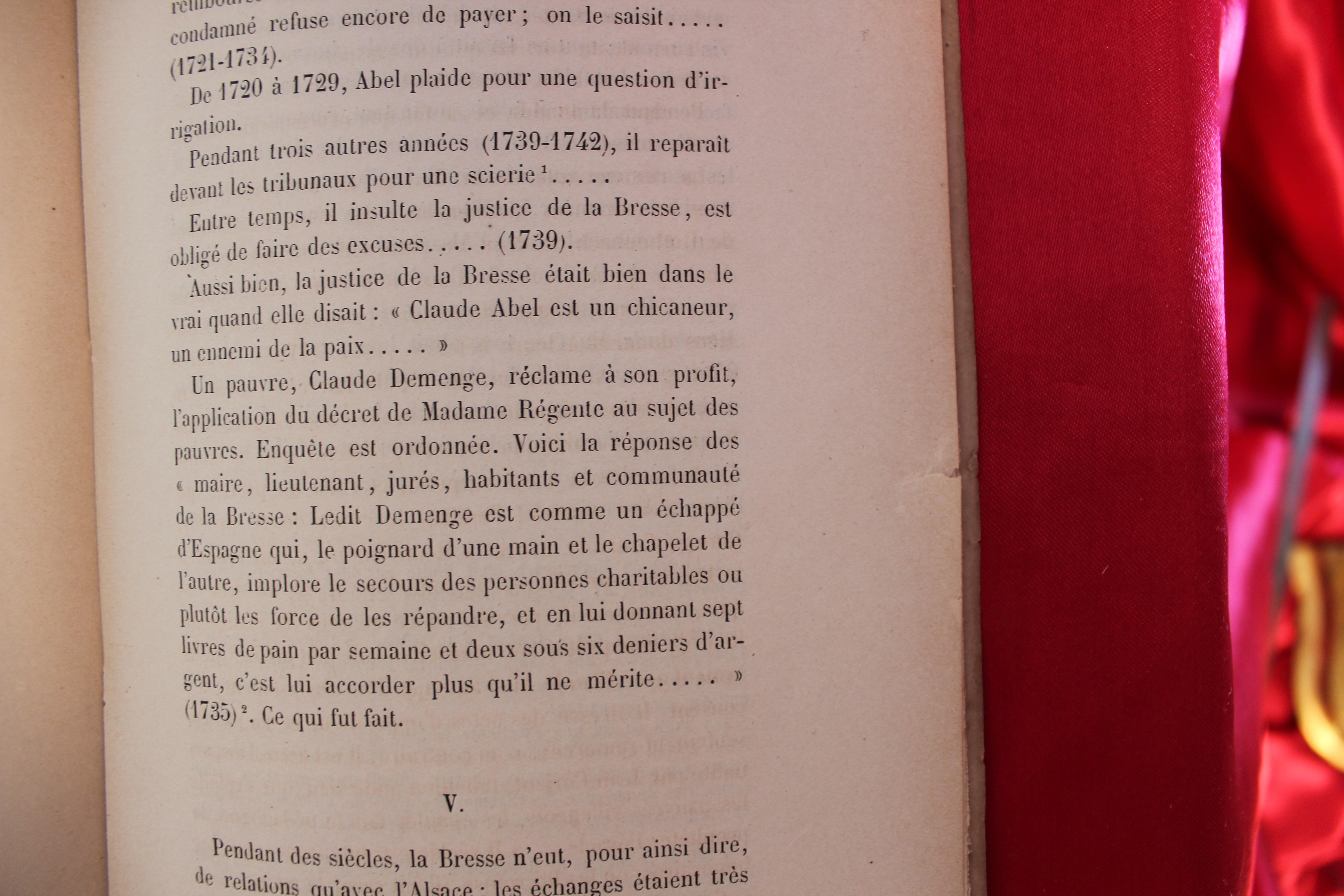 LA19 LORRAINE NANCY GERARDMER LA COMMUNE DE LA BRESSE EN VOSGES M.FOURNIER 1886 - IMG_0652