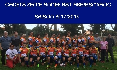 equipes 2018 - Cadets 2eme annee