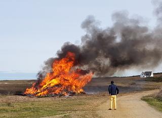 Hoedic, feu de Saint Goustan