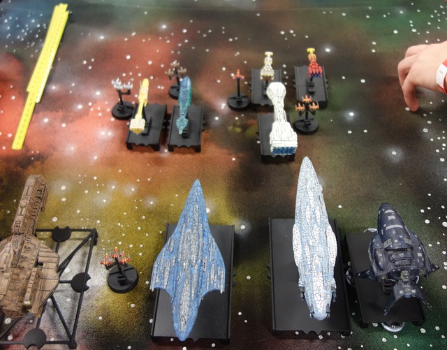 Space Op', ma version d'Armada, premier test à Octogône 2017 17121906593622543815419532