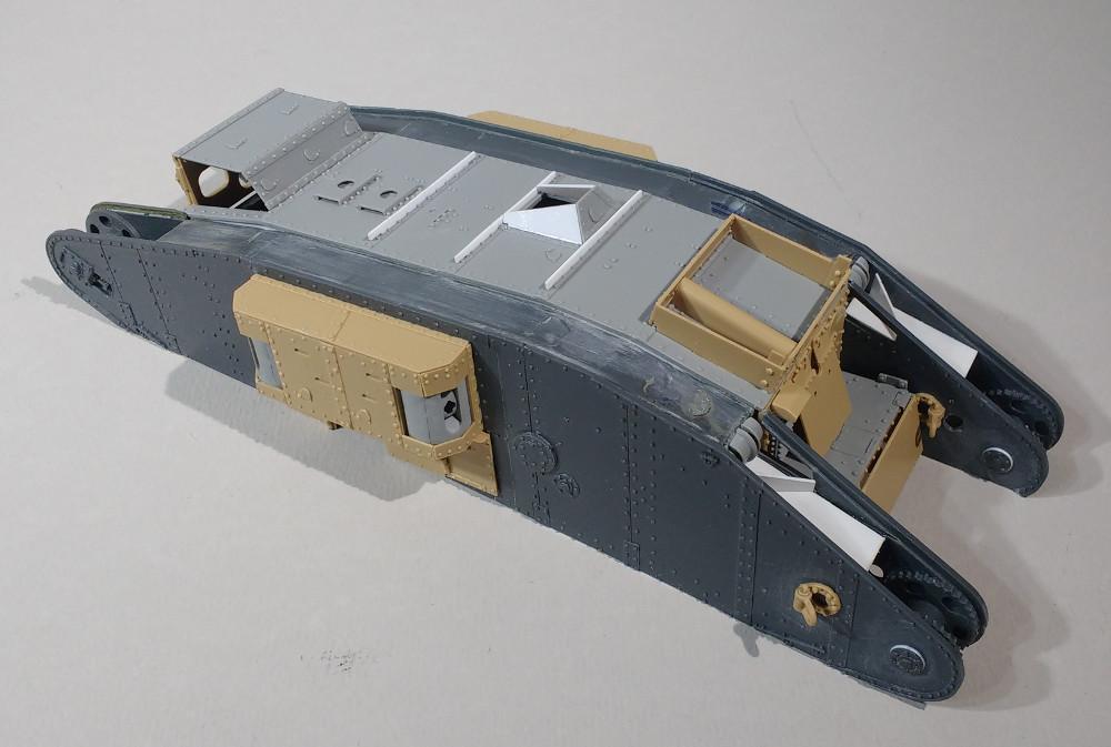 Tank MarkIV un mix Ehmar/Takom au 1/35 17121909381923099315419819