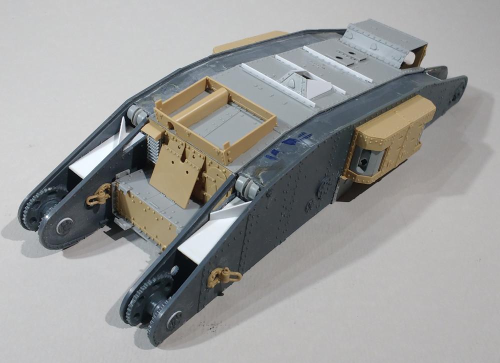Tank MarkIV un mix Ehmar/Takom au 1/35 17121909382023099315419820