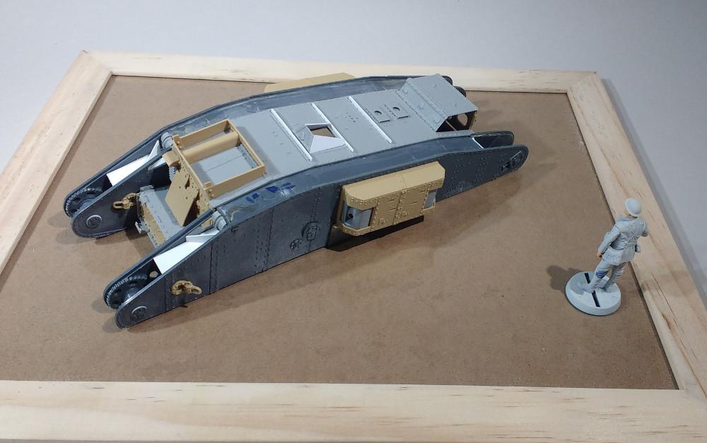 Tank MarkIV un mix Ehmar/Takom au 1/35 17121909382323099315419822