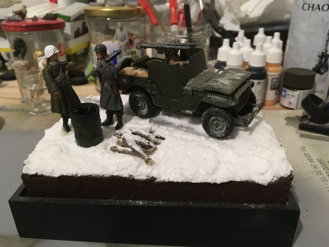 Ardennes hiver 1944-1945 Jeep blindée Dragon 1/35 17122001213621232415420177