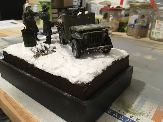 Ardennes hiver 1944-1945 Jeep blindée Dragon 1/35 17122001214221232415420178