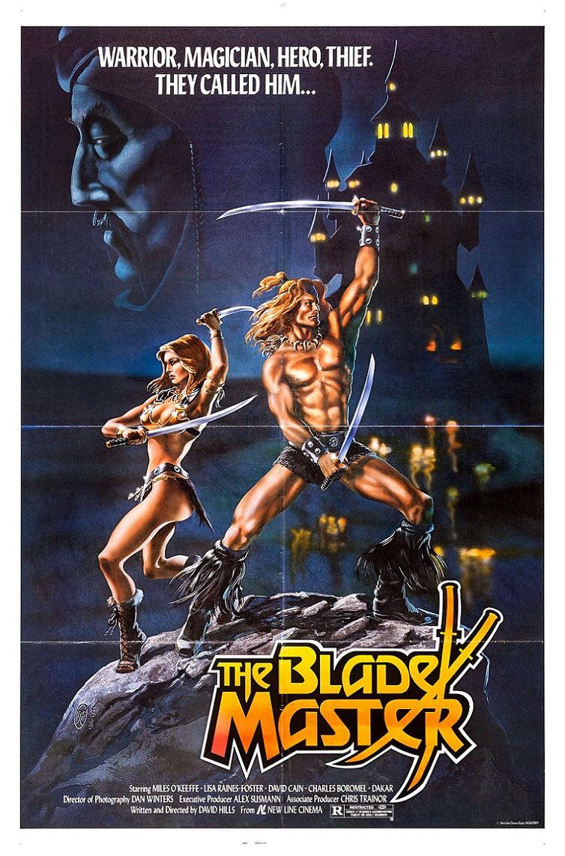 L'AFFICHE : THE BLADE MASTER (1984) dans CINÉMA 17122104262615263615421415