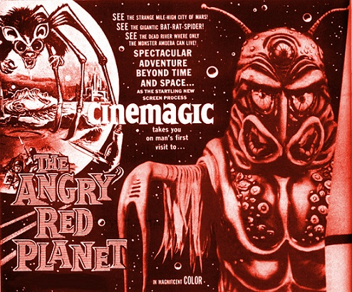 VIDÉO - Angry Red Planet, The Animated Version dans Cineteek 17122106124615263615421417