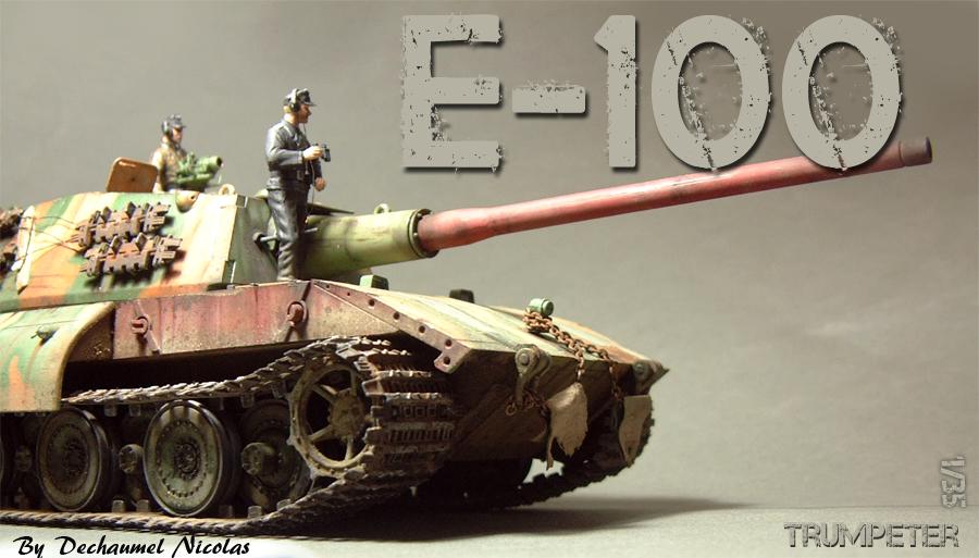 E-100 Super Heavy  Tank - 1/35e [Trumpeter] 1712280159334769015427642