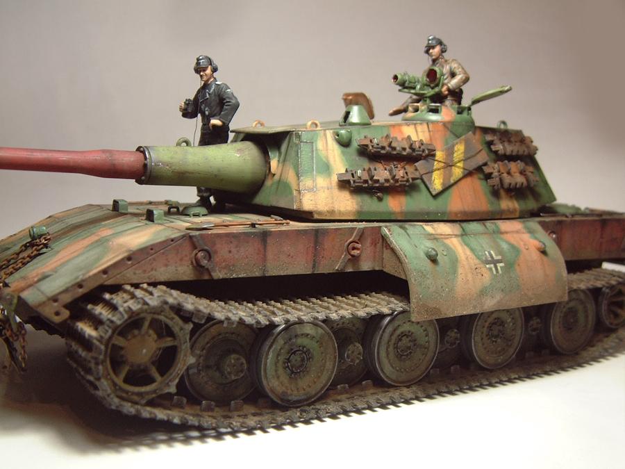 E-100 Super Heavy  Tank - 1/35e [Trumpeter] 1712280159394769015427643