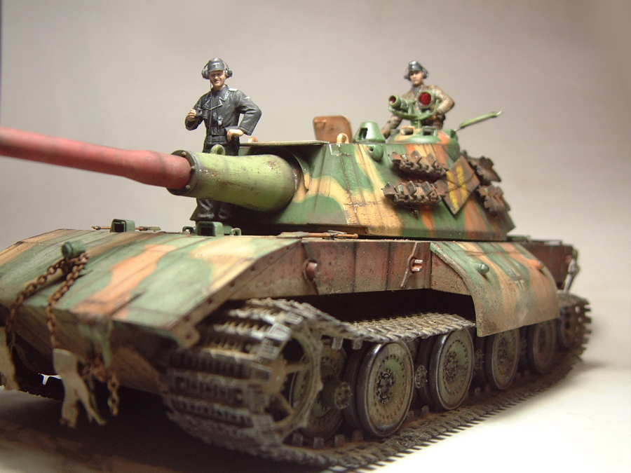 E-100 Super Heavy  Tank - 1/35e [Trumpeter] 1712280159444769015427644