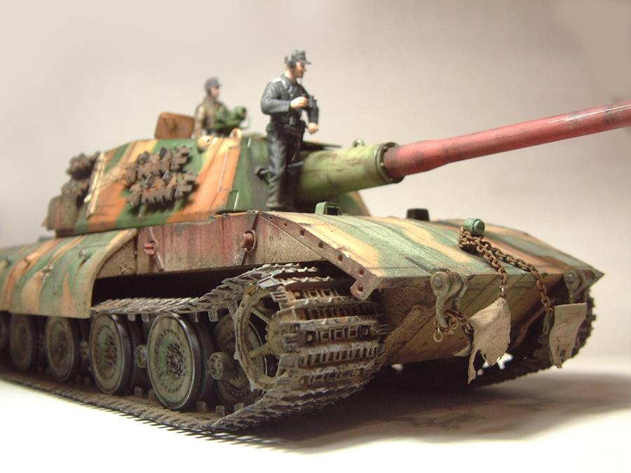 E-100 Super Heavy  Tank - 1/35e [Trumpeter] 1712280159554769015427646