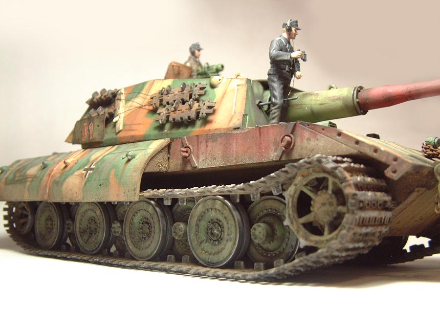 E-100 Super Heavy  Tank - 1/35e [Trumpeter] 1712280200004769015427647