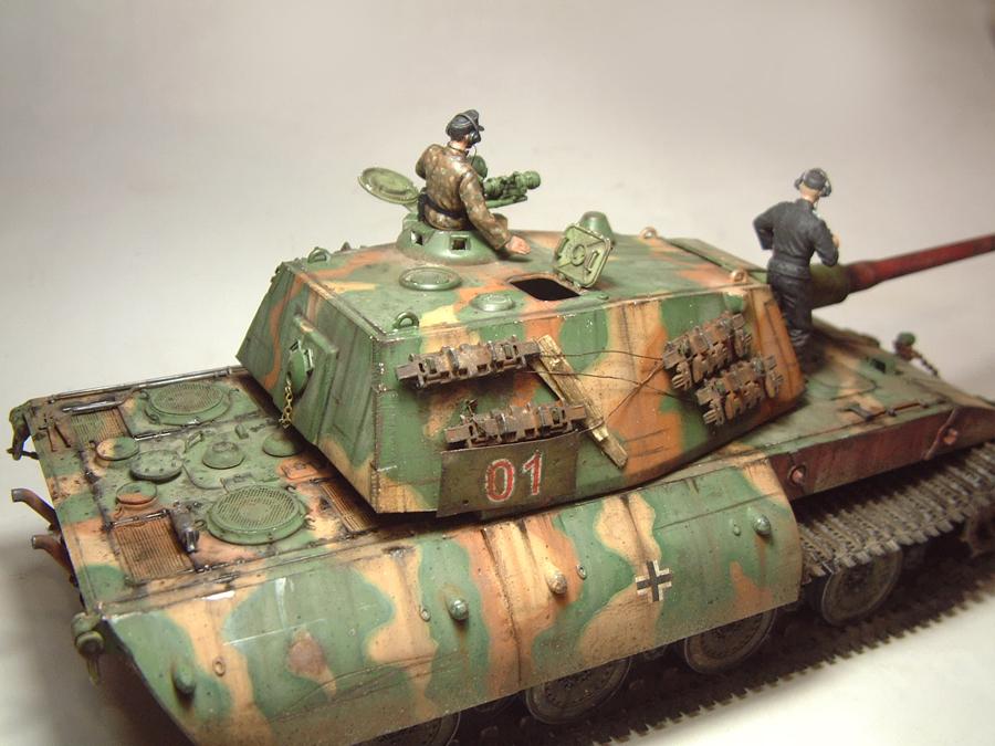E-100 Super Heavy  Tank - 1/35e [Trumpeter] 1712280200064769015427648