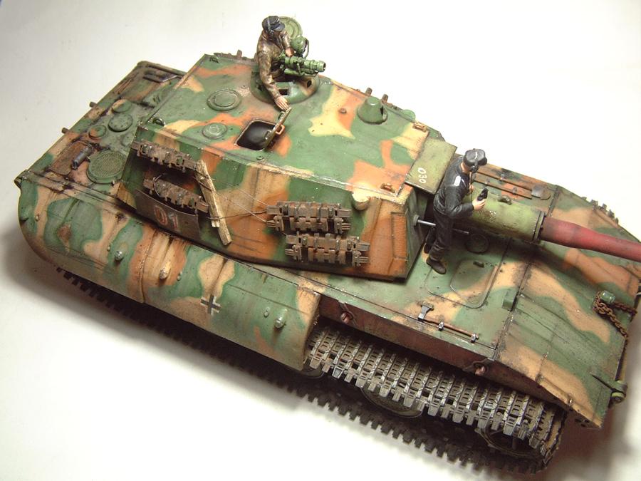 E-100 Super Heavy  Tank - 1/35e [Trumpeter] 1712280200114769015427649