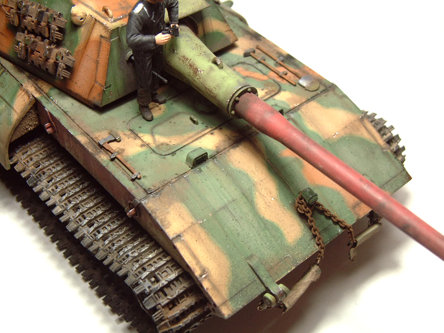 E-100 Super Heavy  Tank - 1/35e [Trumpeter] 1712280201034769015427657