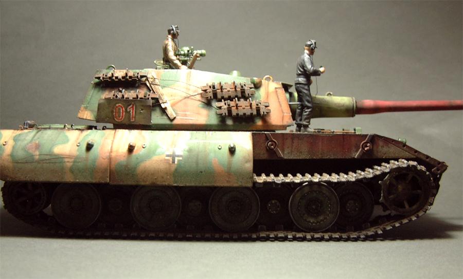 E-100 Super Heavy  Tank - 1/35e [Trumpeter] 1712280201294769015427660