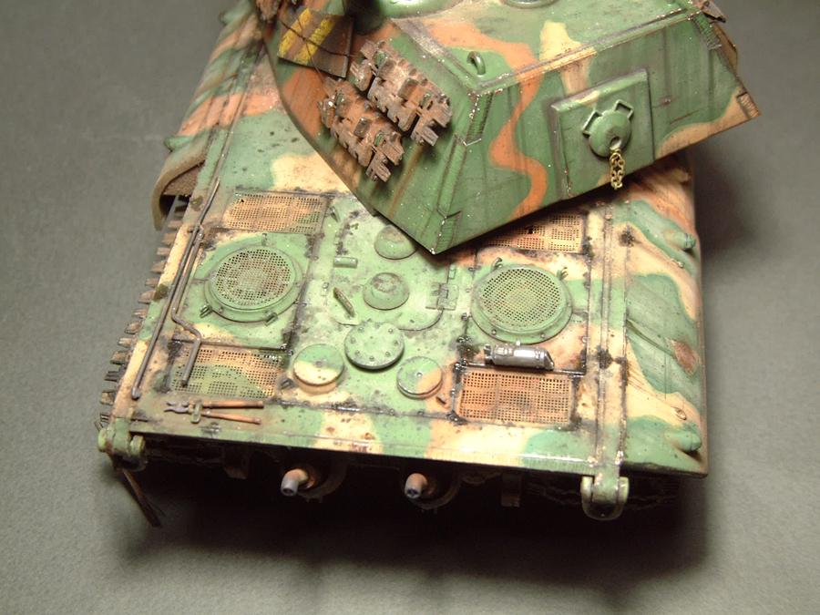 E-100 Super Heavy  Tank - 1/35e [Trumpeter] 1712280203444769015427674