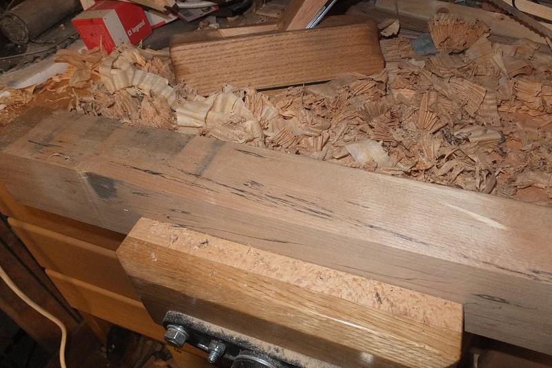 Restauration ? Fabrication d'un petit rabot en bois  18010109155218313815433806