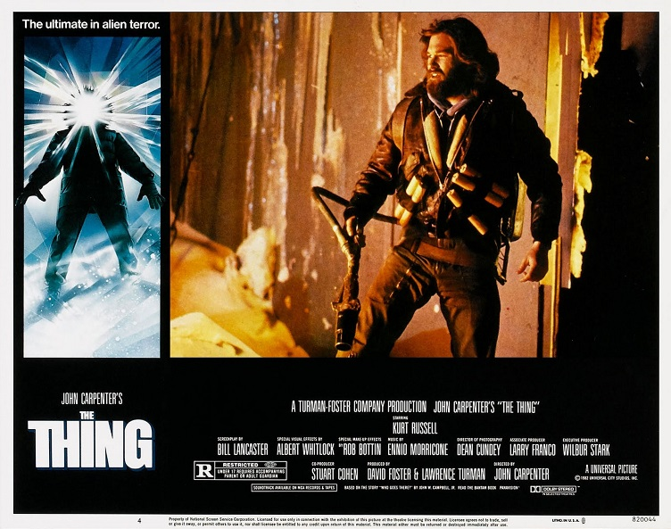 ALBUM PHOTO : THE THING (1982) dans ALBUM PHOTO 18010406525415263615435888
