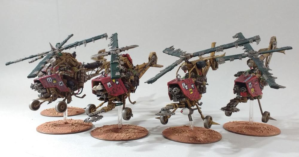 Des Zélikos orks Warhammer 40K 18010409390723099315438045