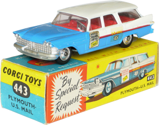 Plymouth U.S. Mail Corgi-Toys