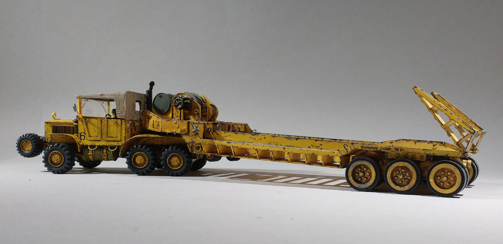 Un porte char en scratch pour W40K 18011012041723099315443150